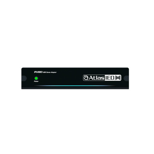 AtlasIED IPUSB-8 8-Channel USB Dante Network Audio Device