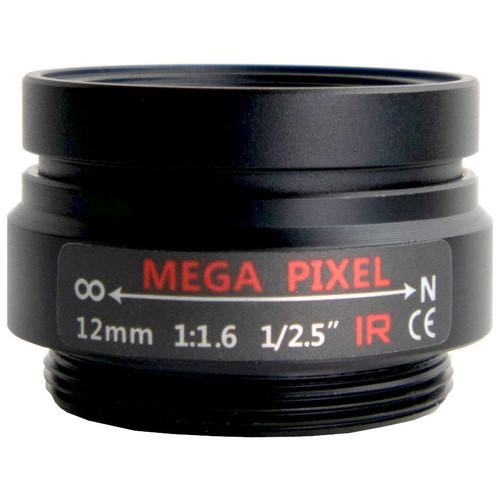 AIDA CS-12.0F CS Mount 12mm Fixed Focal MP Lens