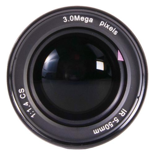 AIDA CS-0550V CS Mount 5mm-50mm Vari-Focal 3MP Lens