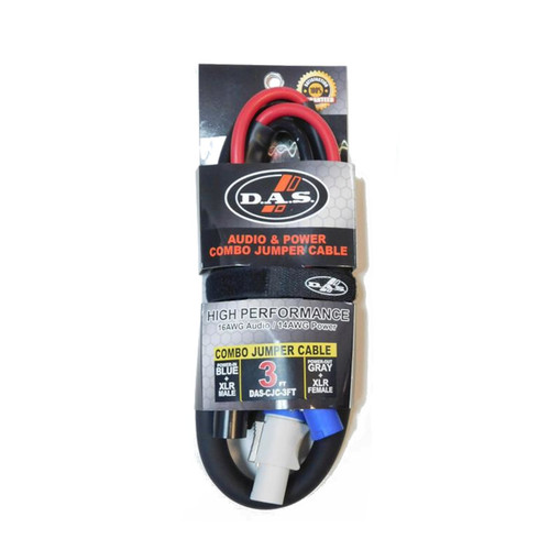 DAS Audio CJC Combo Jumper Cable