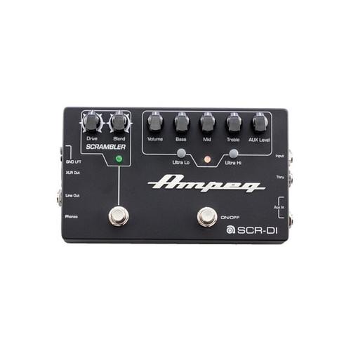Ampeg SCR-DI Bass Preamp Pedal with Scrambler Overdrive