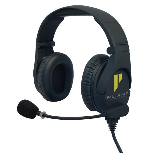 Pliant Technologies Smartboom Pro Dual Ear Electret Headset