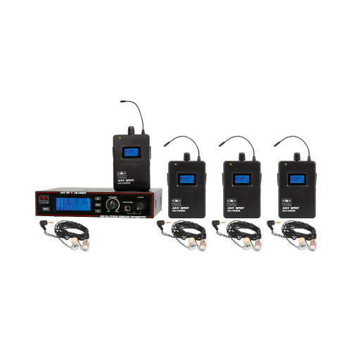 Galaxy Audio AS-1406-4 4-User Personal Wireless System