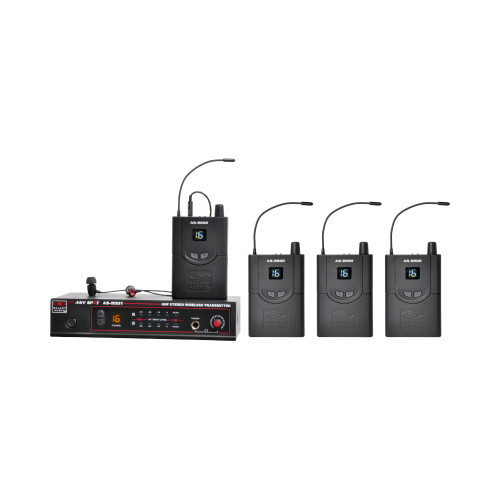 Galaxy Audio AS-950-4 4-User Personal Wireless System