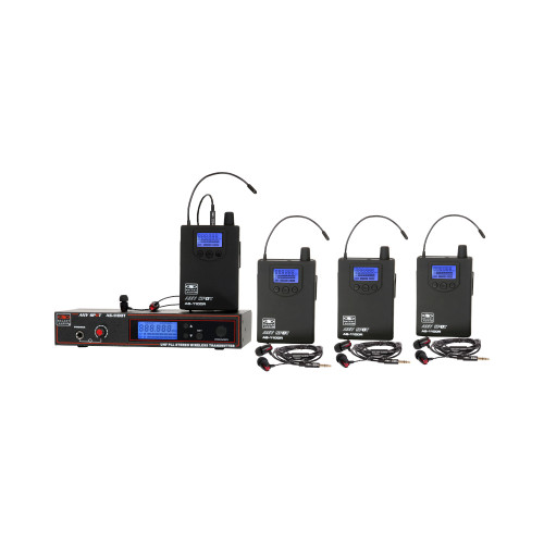 Galaxy Audio AS-1100-4 4-User Personal Wireless System