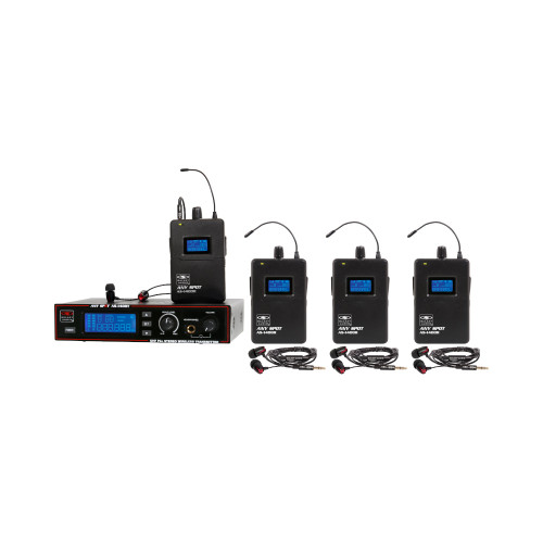 Galaxy Audio AS-1400-4 4-User Personal Wireless System