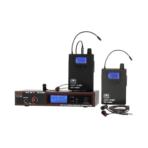 Galaxy Audio AS-1100 UHF Wireless In-Ear Monitor System