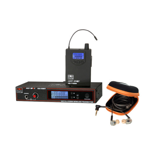 Galaxy Audio AS-1110 Wireless Personal Monitor System