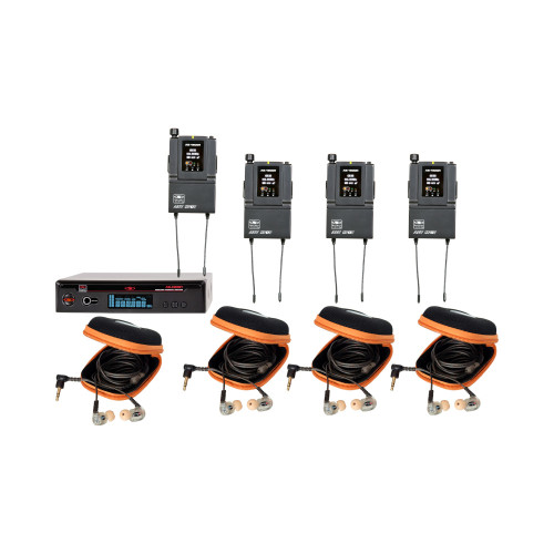 Galaxy Audio AS-1810-4 4-User Personal Wireless System