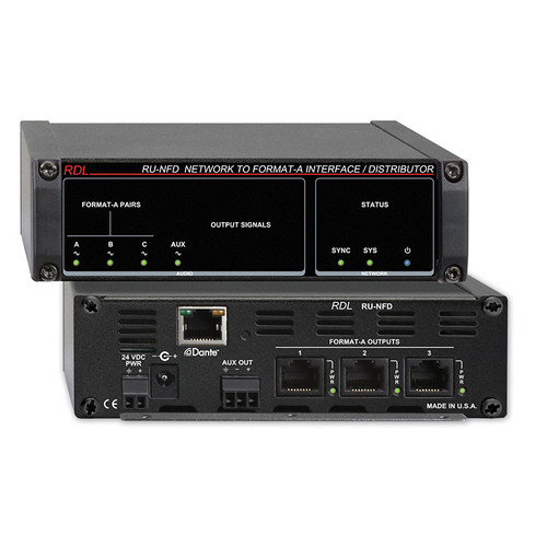 RDL RU-NFD Network to Format-A Interface / Distributor