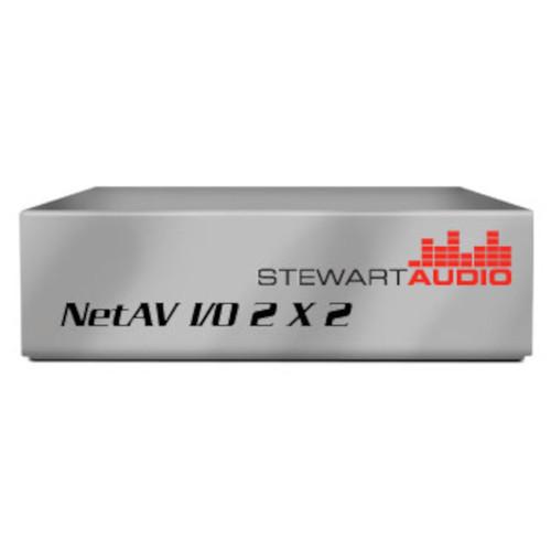 Stewart Audio NetAV I/O 2x2-D Network Enabled On/Off Ramp Device