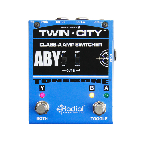 Radial Twin City Active ABY Amp Switcher
