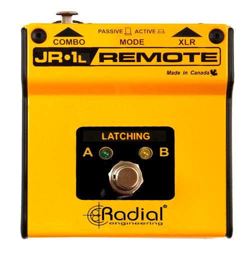 Radial JR1-L Latching AB Footswitch