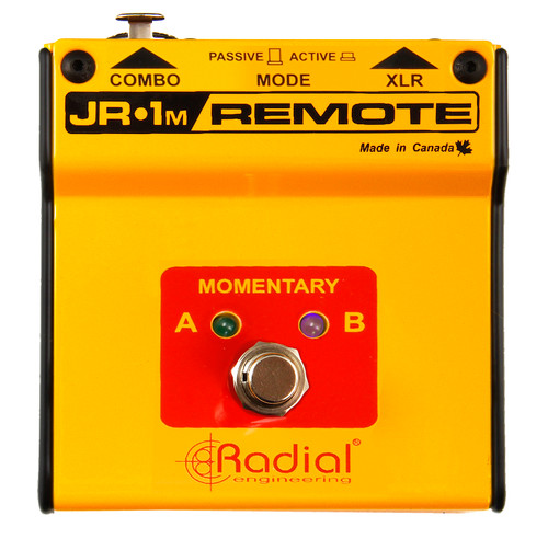 Radial JR1-M Momentary AB Footswitch