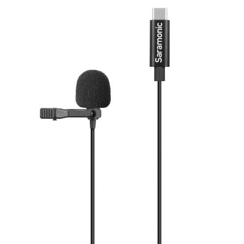 Saramonic LavMicro U3-OA Clip-On Omnidirectional Lavalier Microphone, 2M
