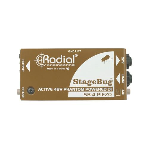 Radial StageBug SB-4 Compact Active Piezo Direct Box