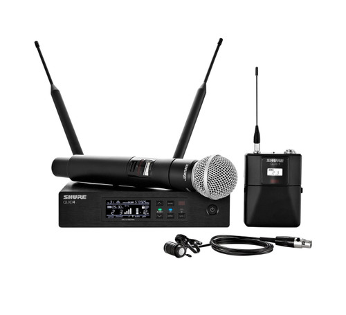 Shure QLXD124/85 Combo Wireless System