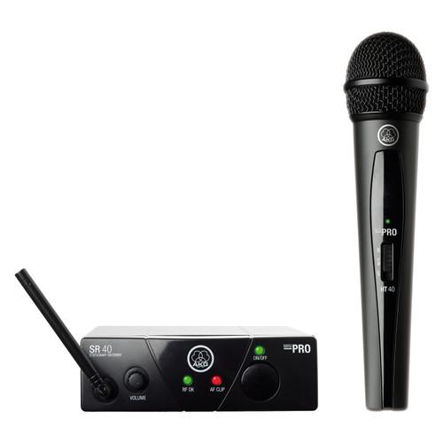 AKG WMS40 Mini Wireless Handheld Microphone System