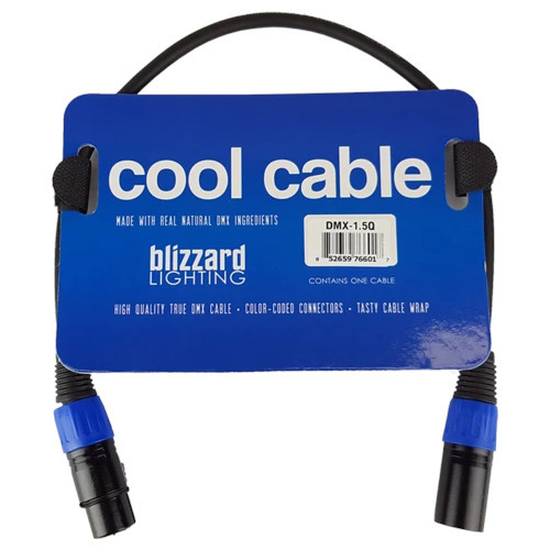 Blizzard Cool Cable 3-Pin DMX Cable