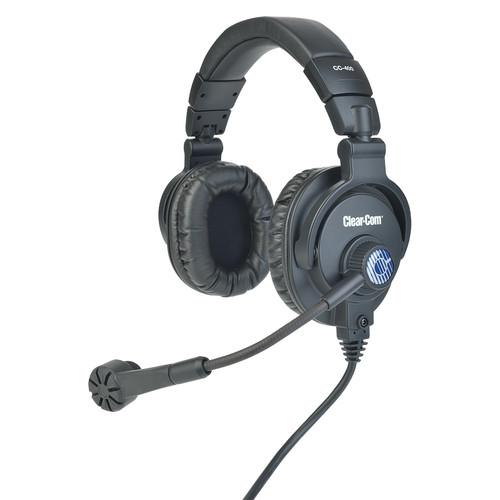 Clear-Com CC-400 Double-Ear Intercom Headset