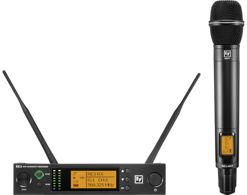 Electro-Voice RE3-ND86 UHF Wireless Handheld Microphone System