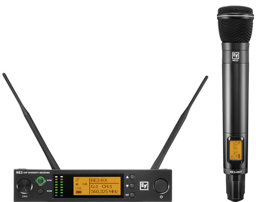 Electro-Voice RE3-ND96 UHF Wireless Handheld Microphone System