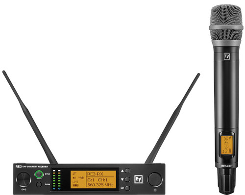 Electro-Voice RE3-RE520 UHF Wireless Handheld Microphone System