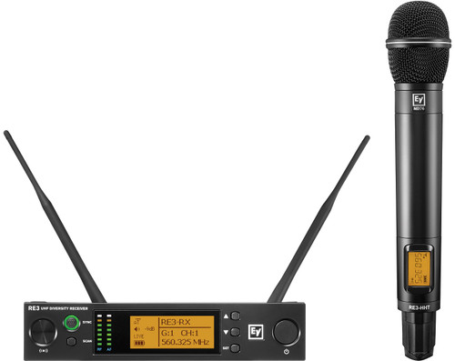 Electro-Voice RE3-ND76 UHF Wireless Handheld Microphone System