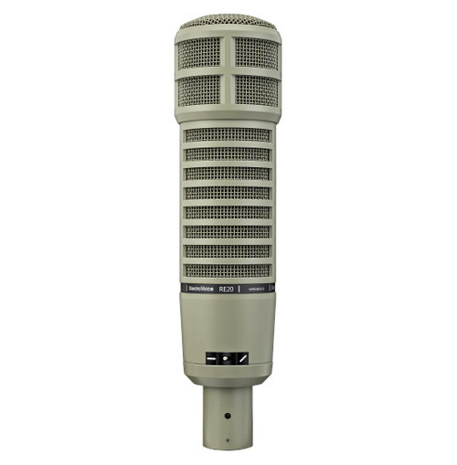 Electro-Voice RE20 Dynamic Cardioid Announcer's Microphone