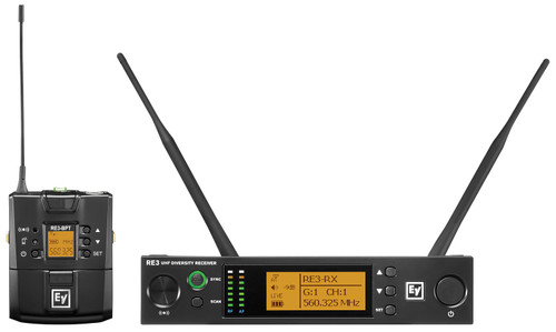 Electro-Voice RE3-BPNID UHF Wireless Set