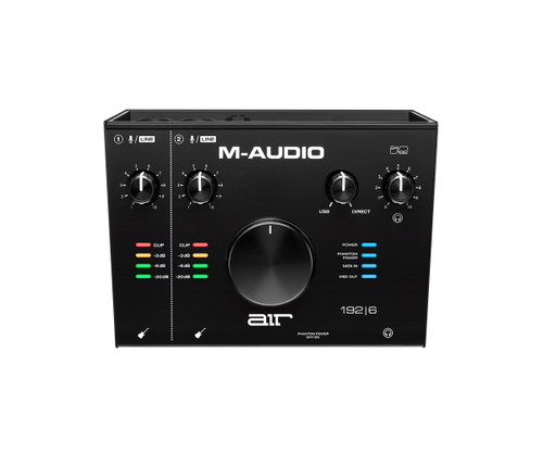 M-Audio AIR192X6 2-In/2-Out 24/192 USB Audio/MIDI Interface