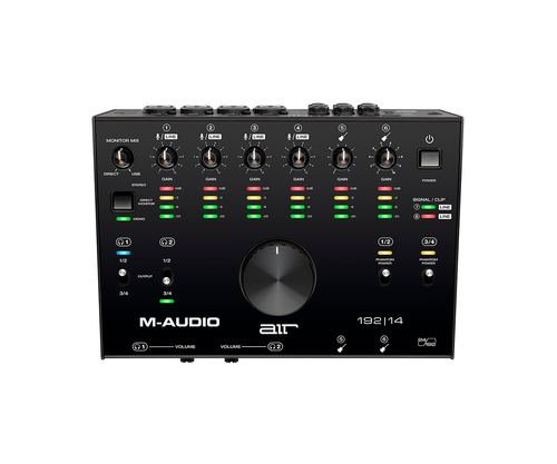 M-Audio AIR192X14 8-In/4-Out 24/192 USB Audio Interface