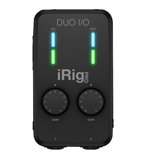 IK Multimedia iRig Pro Duo I/O Interface front