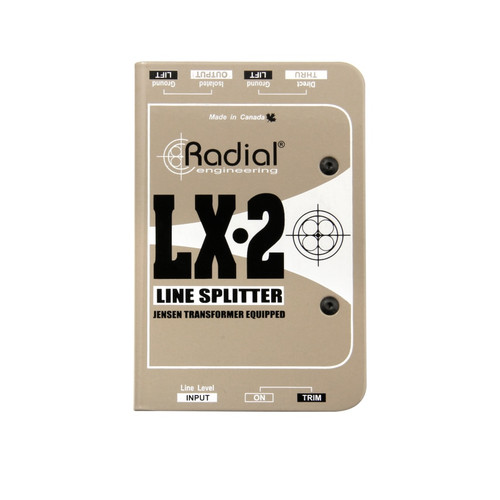 Radial LX2 Line-Level Splitter & Attenuator