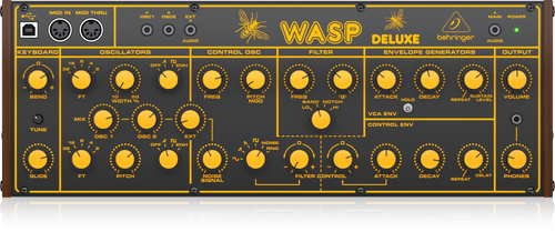 [USED] Behringer WASP Deluxe Legendary Hybrid Synthesizer