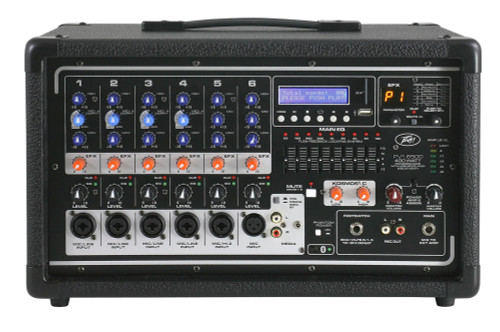 Peavey PVi 6500 All In One Powered Mixer Front