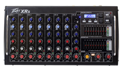 Peavey XRS 8 Channel Powered Mixer Front