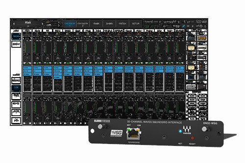 Waves DN32-WSG I/O Card for X32/M32 Mixers + SuperRack