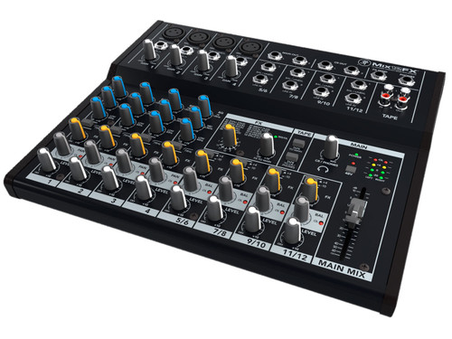 Mackie Mix12FX 12-Channel Compact Mixer with FX