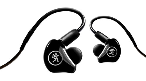 Mackie MP-240 Dual Hybrid Driver In-Ear Monitors front
