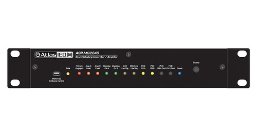 AtlasIED ASP-MG2240 Amplified Sound Masking System with Onboard DSP