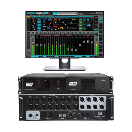 Waves LV64EXC1608 eMotion LV1 Complete Live Mixing System