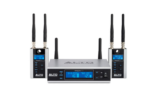 Alto Stealth Pro 2-Channel Wireless Audio System Front