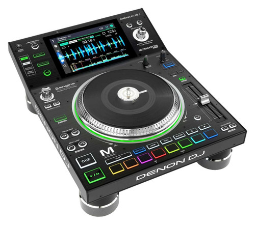Denon DJ SC5000M PRIME Professional Motorized DJ Media Player