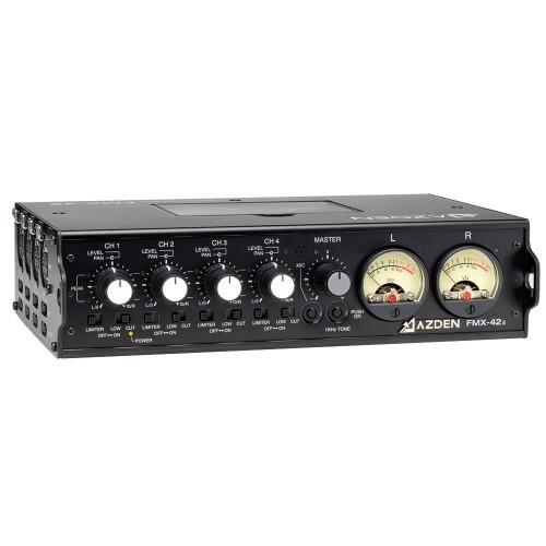 Azden FMX-42a 4-Channel Portable Audio Mixer