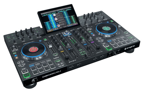 "Denon DJ PRIME 4 4-Deck Smart DJ Console with 10.1"" Touchscreen"