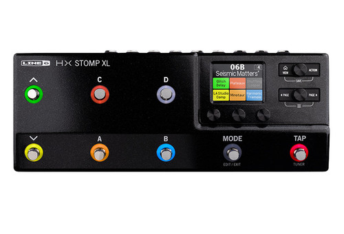 Line 6 HX STOMP XL Guitar Multi-Effects Floor Processor