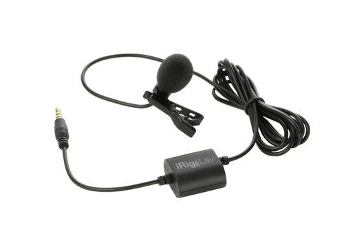 IK Multimedia iRig Mic Lav Compact Lavalier Microphone