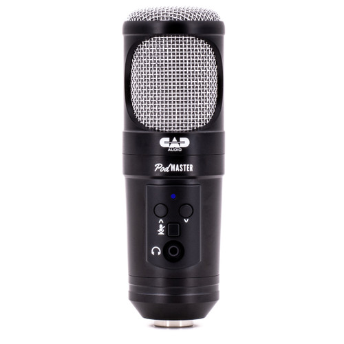 CAD PM1300 SuperD-USB Dynamic Broadcast / Podcasting USB Microphone