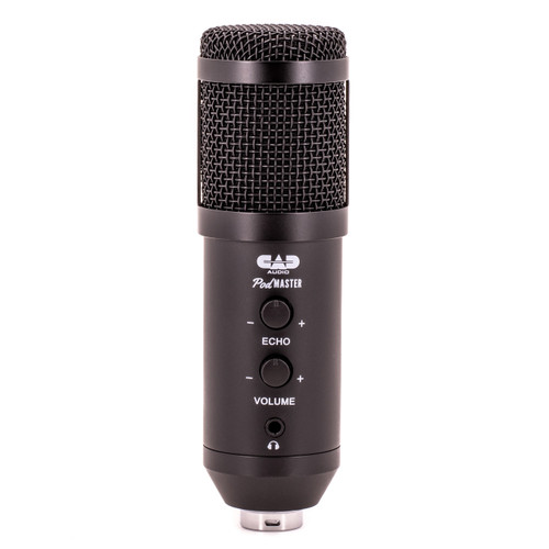 CAD PM1100 PodMaster-USB Dynamic Broadcast / Podcasting USB Microphone